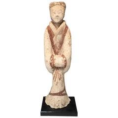 Han Dynasty Pottery Attendant
