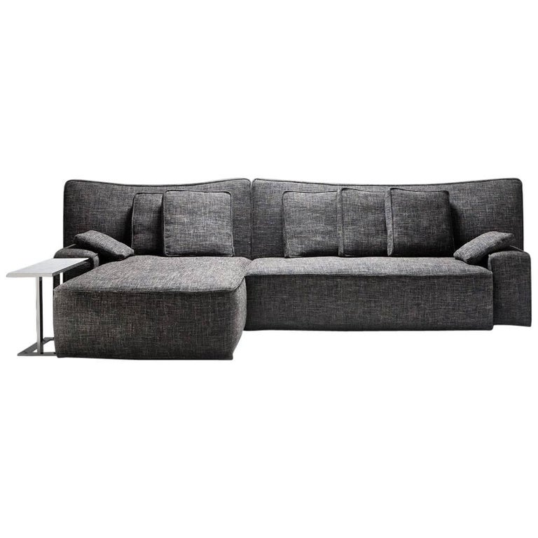 """Wow"" Composition E1 or E2 Sectional Sofa in Goose Feather by P. Starck, Driade"