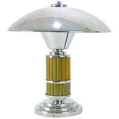 Modernist Art Deco Desk Lamp