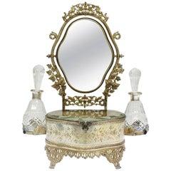 19th Century Louis XVI-Style Dresser Set