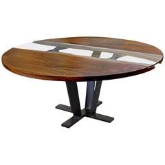 American Black Walnut Colorado Round Pedestal Table