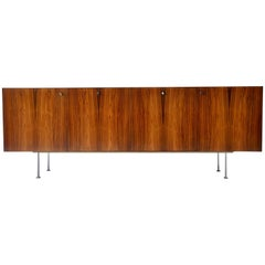 Rosewood Credenza by Poul Norreklit