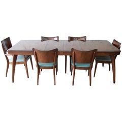 Rare Heywood Wakefield Mid-Century Modern Stingray Dining Set