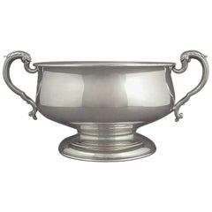 Edwardian Sterling Silver Rose Bowl