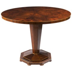 Biedermeier Pedestal Table