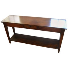 French Pot Board Shelf Serving Table