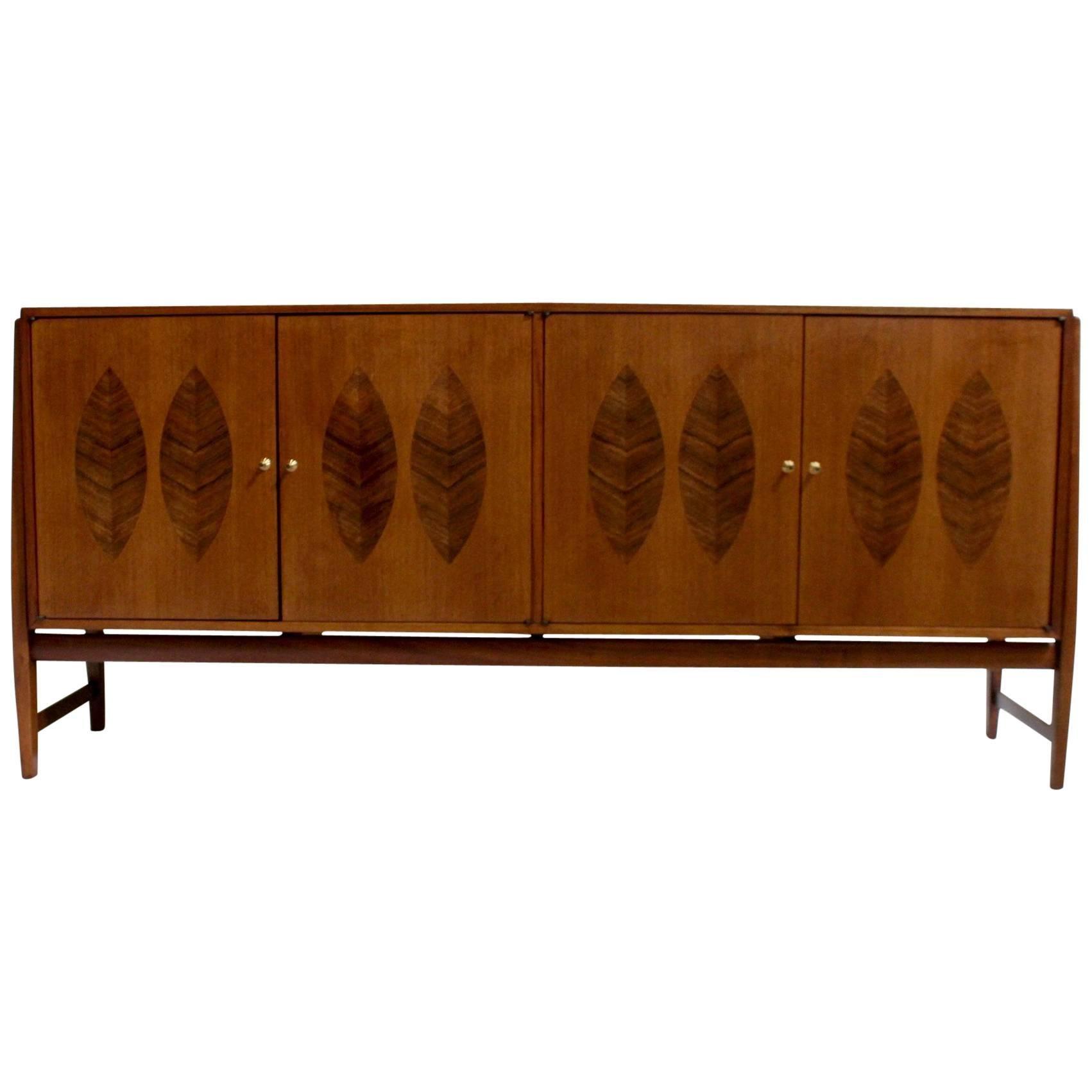 Kipp Stewart For Calvin Teak And Rosewood American Mid Century Modern  Cabinet