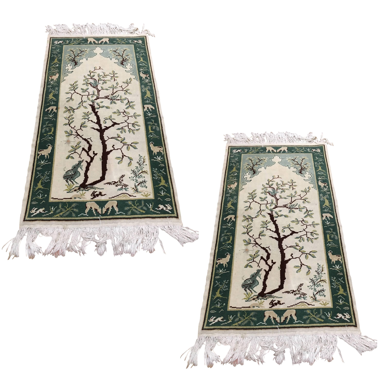 Two Italian Carpets Tree 20th Century