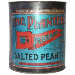 "Decorative ""Planter Peanuts"" Can"