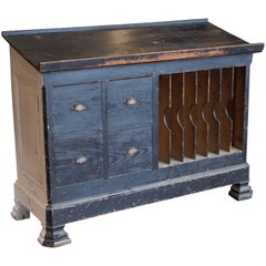 19th Century Substantial French Slope Top Desk