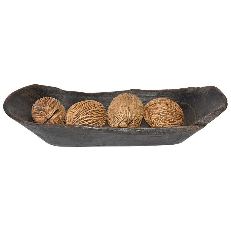 Decorative Bowl With Balls Glamorous Wooden Antique Bowl With Decorative Balls For Sale At 1Stdibs Design Inspiration