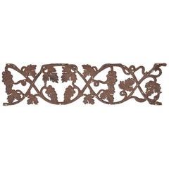 Decorative Metal Railing Piece
