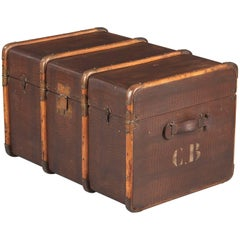French Traveling Trunk, Early 1900s