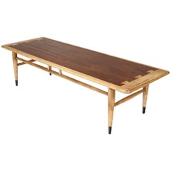Walnut Acclaim Coffee Table by Lane Furniture Co, 1960s