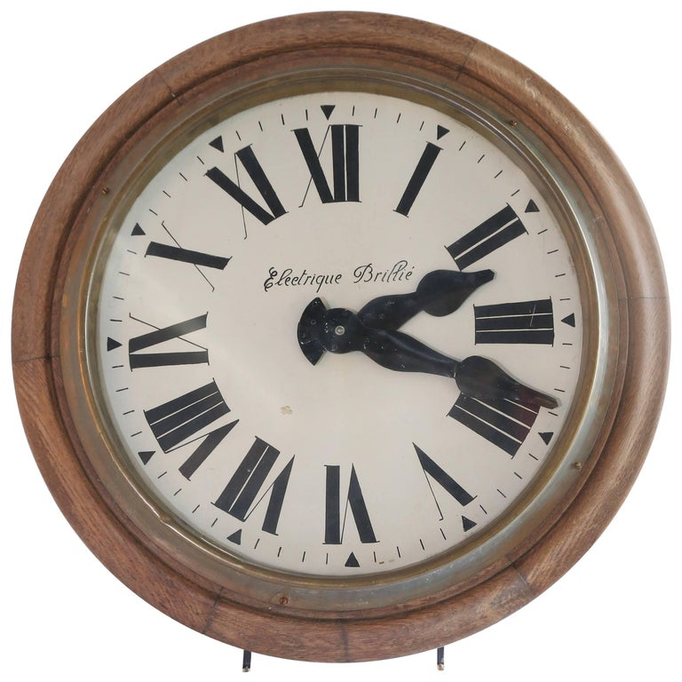 Vintage Brillie Wall Clock