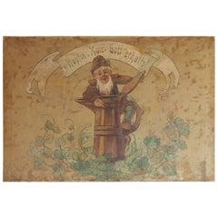 Old Hoffen Beer Sign