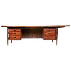 Arne Vodder for Sibast Denmark, Rosewood Executive Desk, 1960s