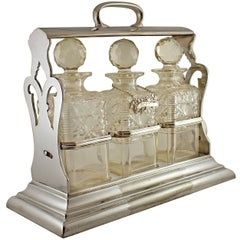 Walker & Hall Tantalus Silver Plated Tantalus Set