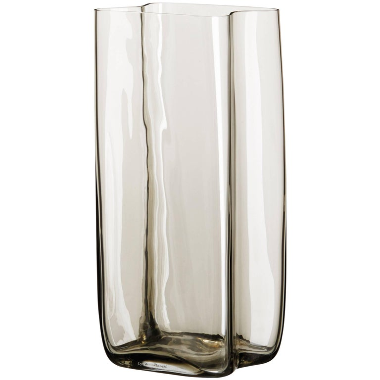 Bosco Carlo Moretti Contemporary Mouth Blown Murano Glass Vase In