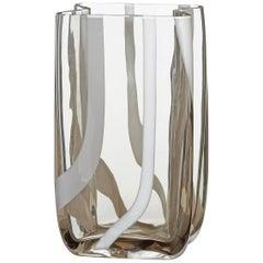 Tasch Carlo Moretti Murano Contemporary Mouth Blown Vase