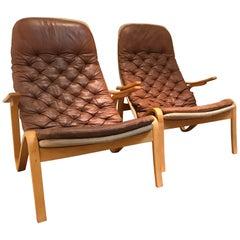 Pair of Sam Larsson Metro Chairs
