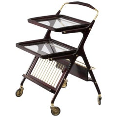 Cesare Lacca Bar Trolley, Italy, 1950