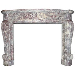 Antique Marble Fireplace mantel from the 19th Century