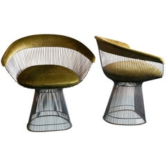 Pair of Warren Platner by Knoll Dining Chairs