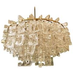 Carlo Nason chandelier glass Murano Italian 290 Pc, 1960