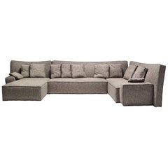 """""""Wow"""" Composition P1 or P2 Sectional Sofa in Goose Feather by P. Starck, Driade"""