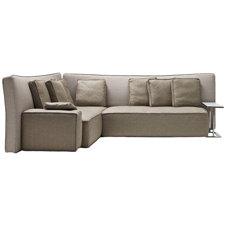 """Wow"" Composition C1 or C2 Sectional Sofa in Goose Feather by P. Starck, Driade"