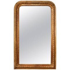 French Louis Philippe Period Giltwood Mirror