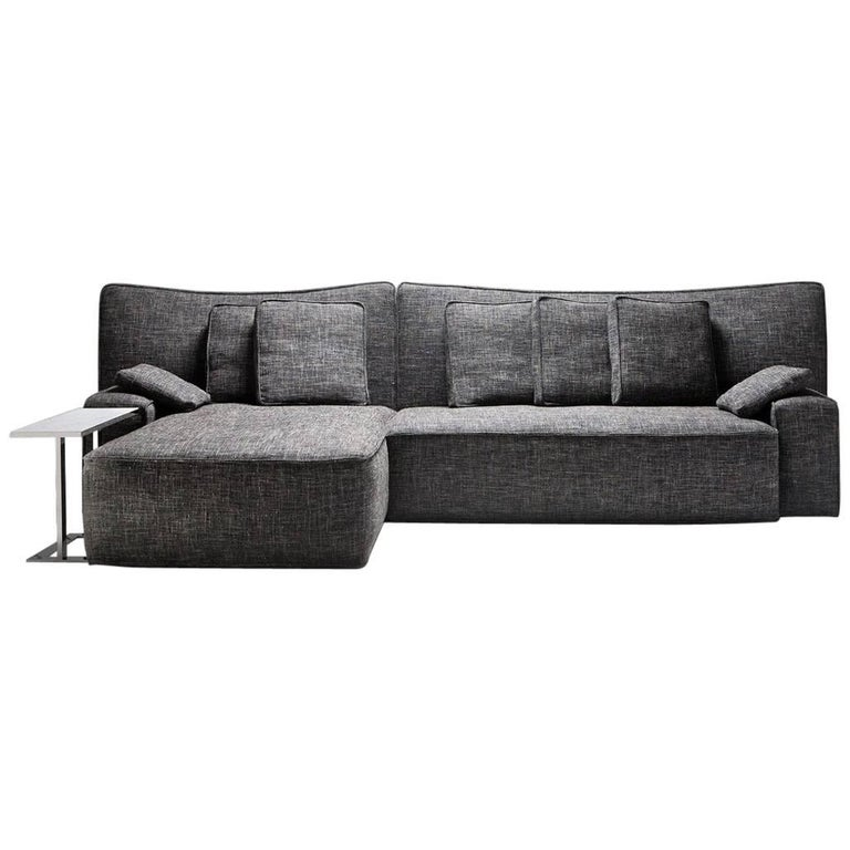 """Wow"" Composition I1 or I2 Sectional Sofa in Goose Feather by P. Starck, Driade"