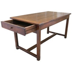 Early 19th Century French Chestnut Farmhouse Table