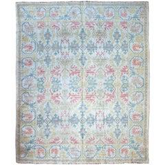 Antique Cuenca Spanish Carpet