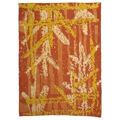Vintage French Art Deco Rug