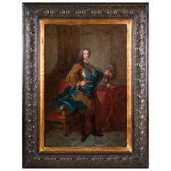 Louis-Michel Van Loo, Portrait of a Man Wearing the Order of Saint-Esprit