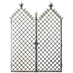 Pair of French 17th Century Iron Gates