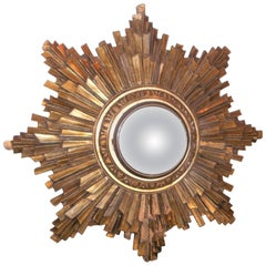 Gilt Sunburst in Louis XIV Style