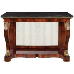 Amazing 19th Century Empire Console Table