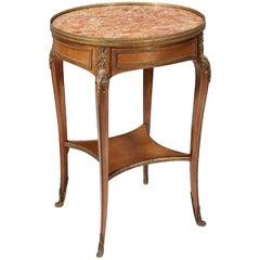 19th Century Bouillotte Table