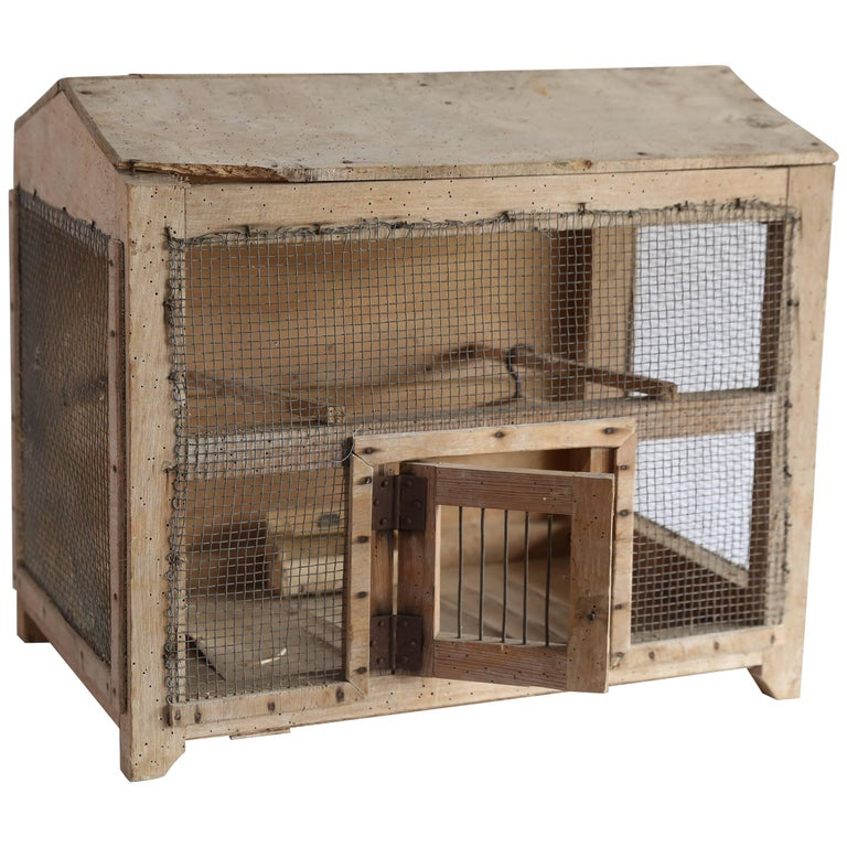 Rustic Bird Cage from France
