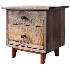Spring Side Cabinet in Domestic Hardwoods