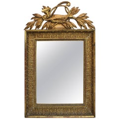 French Neoclassical Giltwood Mirror