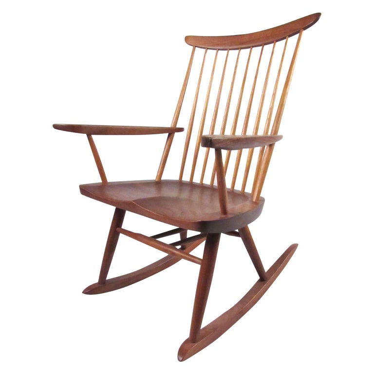 "George Nakashima ""New"" Chair Rocker For Sale"