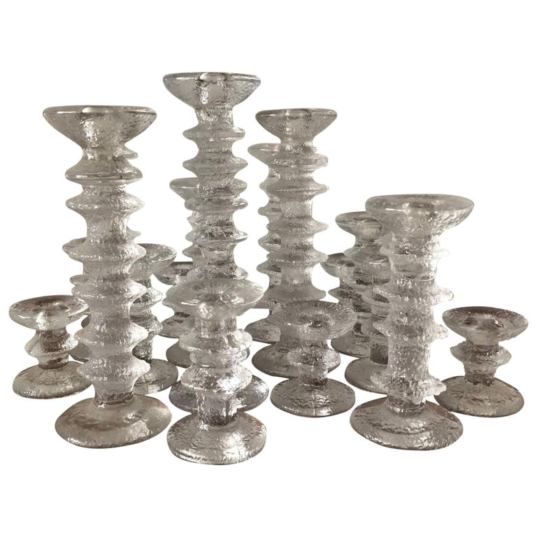 Timo Sarpaneva for Littala Collection of Candlesticks 1