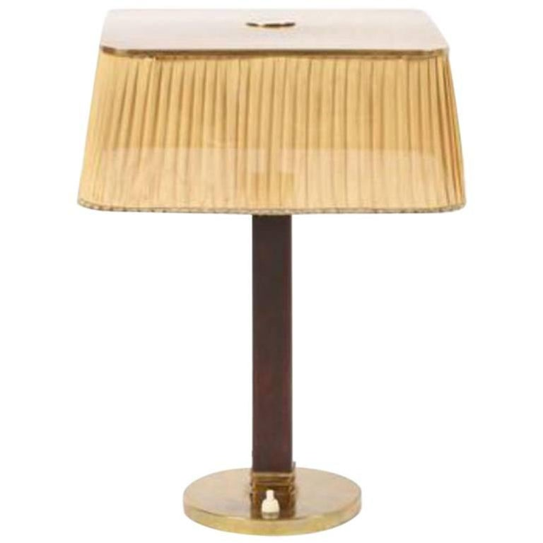 Table Lamp by Paavo Tynell for Taito Oy, Model 5066, circa 1945