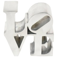 "Robert Indiana 'Love"" Paperweight or Sculpture"