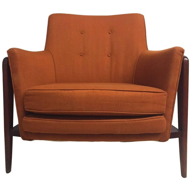Super cool midcentury danish modern armchair for sale at for Cool armchairs