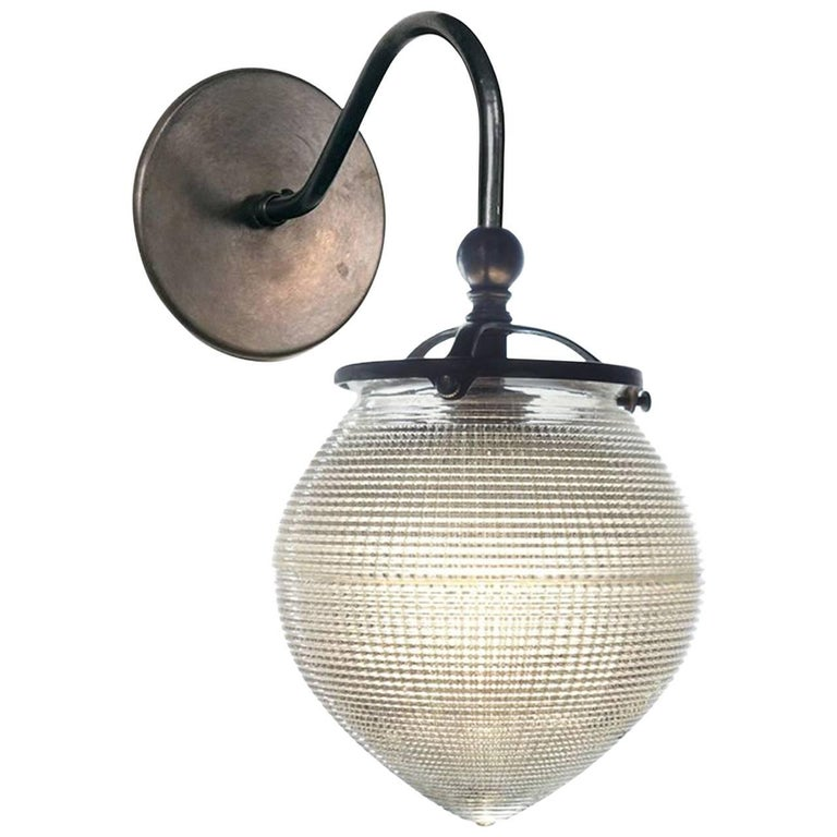 1920s Acorn Prismatic Sconces
